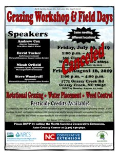 Cover photo for Grazing Workshop and Field Day