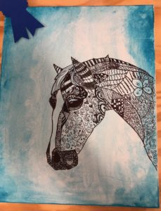 Cover photo for 2020 NC 4-H Horse Program Artistic Expression & Creative Writing Contest Updates