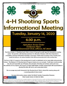 Cover photo for 4-H Target Shooting Sports Informational Meeting
