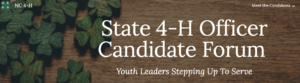 Cover photo for Announcing The: New State 4-H Officer Candidate Website
