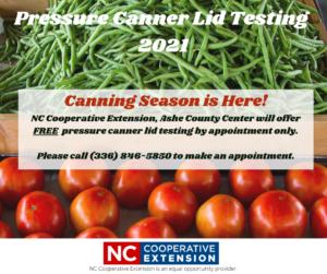 2021 Pressure Canner Testing