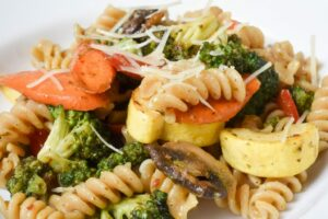 Whole Wheat Pasta with Vegetables
